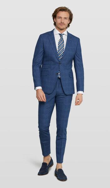 Van Gils blue wedding suit