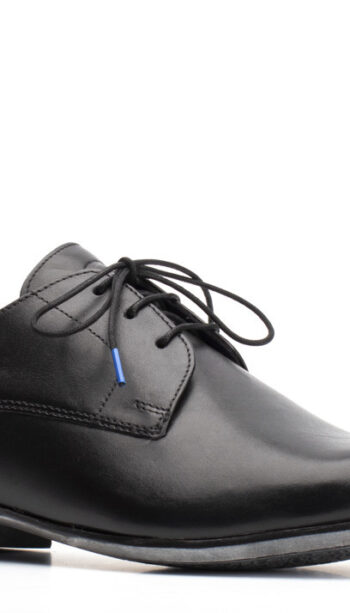 Base black dress shoe