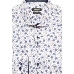 Remus Uomo navy floral shirt