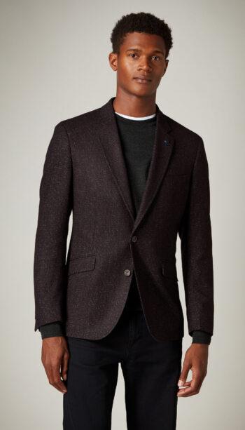 Remus Uomo Burgundy Jacket