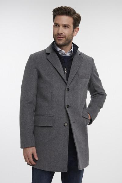 Van Gils Light Grey Overcoat
