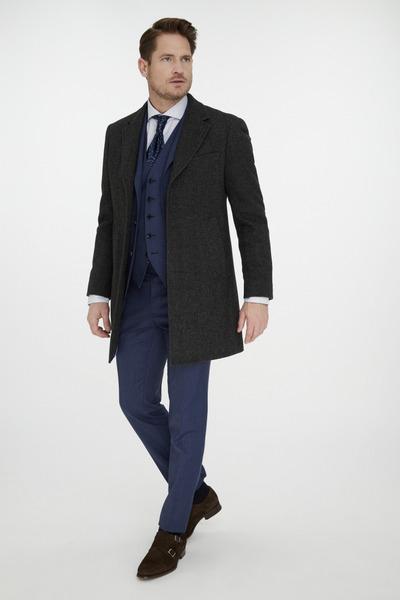 Van Gils Dark Grey Overcoat