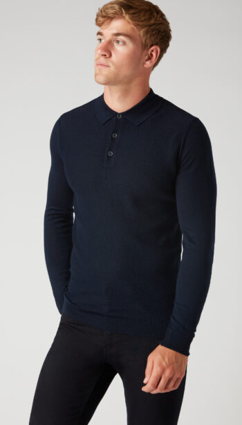 Remus Uomo long sleeve Polo