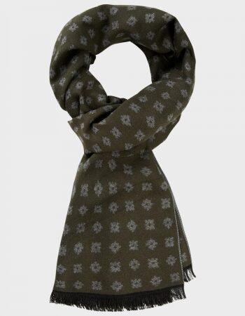 Micaelis Army Green scarf