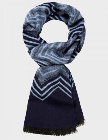 Michaelis Navy scarf