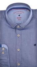 Pure oxford Denim Blue
