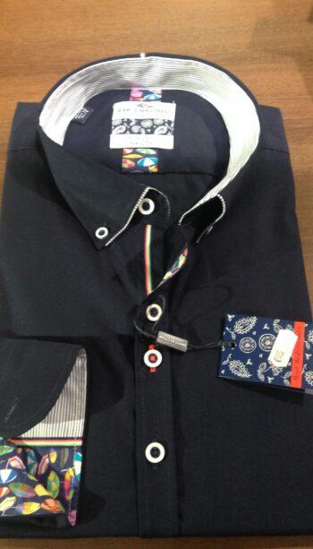 Navy Dario Beltran shirt