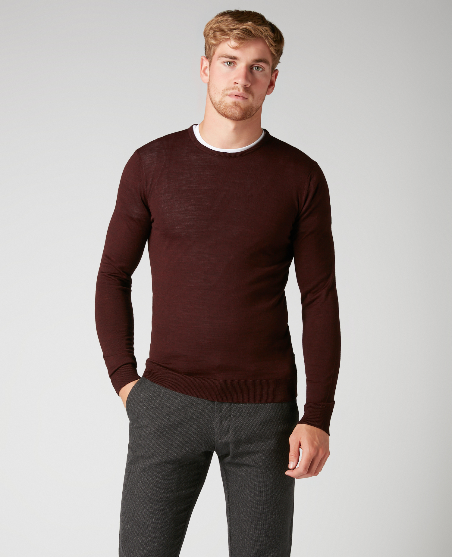 Remus Uomo Dark Red Jumper