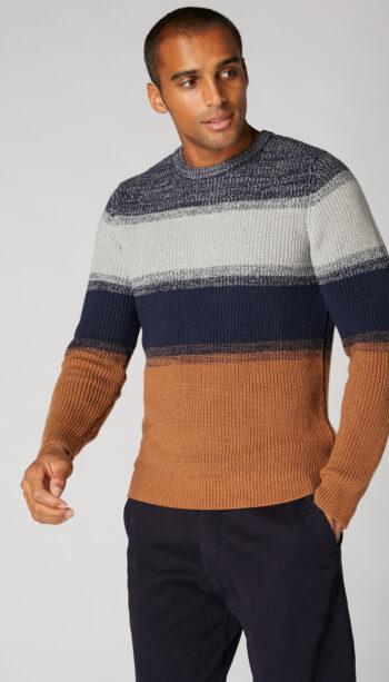 Remus Uomo Heavyweight Brown Jumper