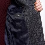 Remus Uomo Dark Grey Coat