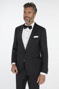 Men's black tuxedo. Van Gils brand.