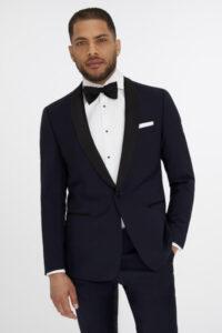 Mens navy tuxedo. Van Gils brand.